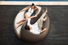 Yin Yang Chaise. For when i have a private spa