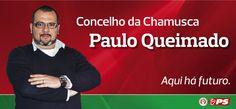 Paulo Queimado 2013 | Candidato a Presidente da Câmara Municipal da Chamusca