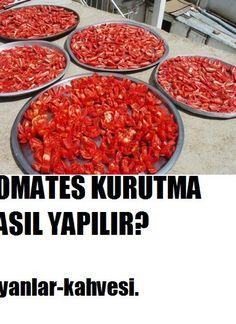 Domates kurutması nasıl yaplır? Turkish Recipes, Ethnic Recipes, Chana Masala, Mashed Potatoes, Veggies, Food And Drink, Favorite Recipes, Beef, Homemade