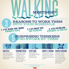 Can you schedule a walking meeting next week? 5 surprising thinkers who swore by them! Inspirational Leaders, L Office, Employee Wellness, Leadership Lessons, Work Meeting, Career Inspiration, Employee Engagement, Student Engagement, Business Planner