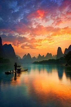 Guilin, China Beautiful #fabulous #amazing