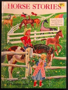 'HORSE STORIES' Big Golden Book 1954, ill. Feodor Rojankovsky   eBay