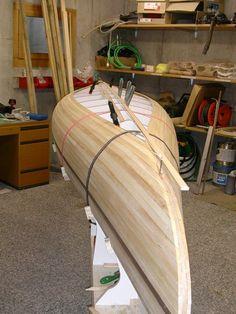 Wooden Kayak Custom Made Canoe Wood Canoe, Wooden Kayak, Canoe Boat, Canoe And Kayak, Jon Boat, Plywood Boat Plans, Wooden Boat Plans, Wooden Boat Building, Boat Building Plans