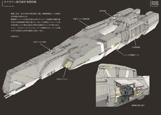 Different capital ship design (from Infinite Space).