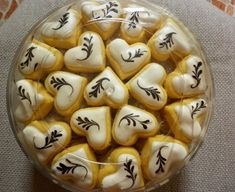 Iced Cookies, Biscuit Cookies, Yummy Cookies, Cake Cookies, Chocolate Cookies, Sugar Cookies, Almond Recipes, Baking Recipes, Snack Recipes