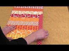 These Adorable Place Mats Are A Breeze To Make, And Fun Too! Check It Out! - 24 Blocks