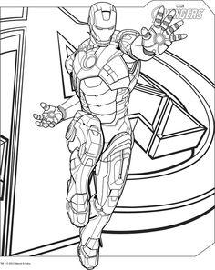 Iron Man Mark 6 Coloring pagejpg 521 720 iron man