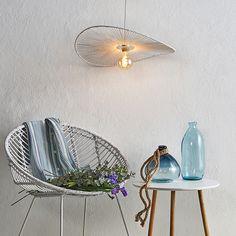 Pendellampe Frido i tvunnet papir Home Appliances, Home, Table Fan, Table, Inspiration