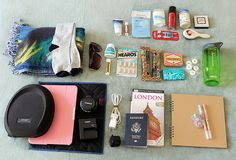 What's in my carry-on.