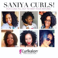Our 2nd largest curl that's sure to meet your curl fix! #curlkalon #protectivestyles #protectivestyles #saniyacurl by curlkalon