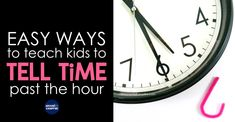 Telling time past the hour can be challenging for primary kids but it doesn't have to be a struggle for you or your students. Learn simple ways and effective strategies to make telling time easier for primary kids.