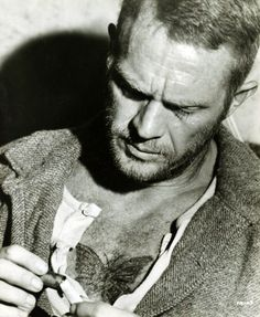 """Steve McQueen in one of my all time favorite movies, """"Papillion""""."""
