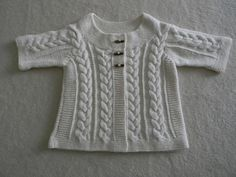 Ravelry: Cabled Cardigan pattern by Plymouth Yarn Design Studio