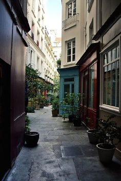 passage de l'Ancre - Paris 3eme