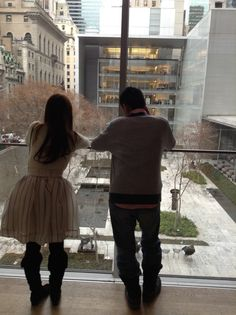 We love MOMA courtyard