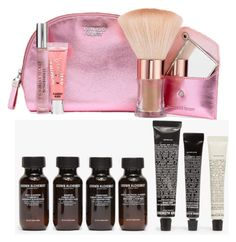 Corporate Gifts For Business Customers by seoisha on Polyvore featuring interior, interiors, interior design, home, home decor, interior decorating, Grown Alchemist and Victoria's Secret