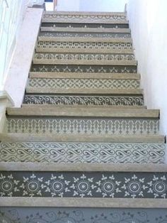 Painted Stair Runners Photo 7