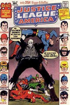 Justice League of America 92 - Dc - No92 Sept - Only 25c - Justice Society Of America - Superman Flashrobingreen Lanternatom - Neal Adams