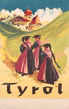 Tyrol, Sommer, Karl, 1950 bis 1959
