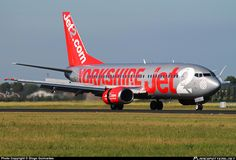 Jet2 ``Yorkshire`` Livery: Boeing 737-777 in Schiphol, Amsterdam.