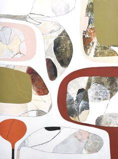 Post modern original paintings by California artist Tricia Strickfaden, TSModernArt Studio Contemporary Abstract Art, Contemporary Artists, Modern Art, Original Art, Original Paintings, Turquoise Background, Mixed Media Canvas, Painting On Wood, Home Art