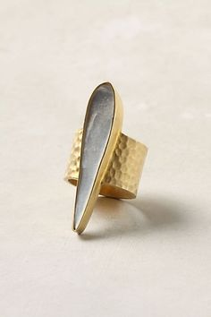 Mother-Of-Pearl Ring - StyleSays