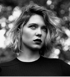 Lea Seydoux and her beautiful bob More