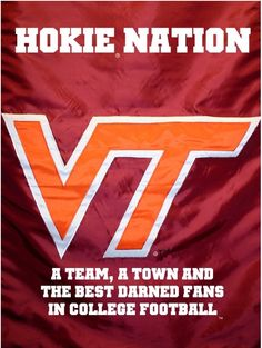 my heart is always stirred when i see these colors.... my wonderful hokie friends... i cannot help it
