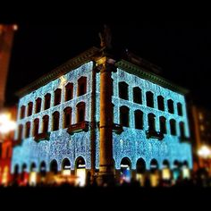 Florence Italy Christmas Lights Photo by marcociappelli