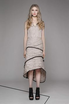Taylor 'Incision' Collection, Summer 13/14   www.taylorboutique.co.nz Taylor - Silk Formation Dress