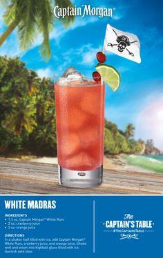 Drink Mixes With Captain Morgan