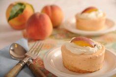 Frozen Peach Souffle
