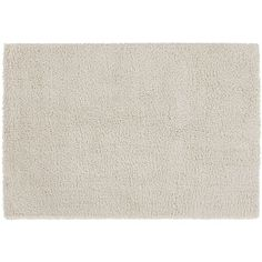 Memphis White Rug - our family room comes in white!