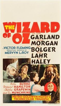 The Wizard of Oz  -  when I was younger this would come on TV once a year, right around Thanksgiving