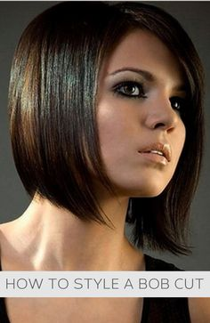 How to style a bob cut #howto, #helpful, #useful, #tips, #advice