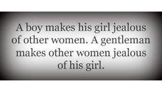 True gentlemen...