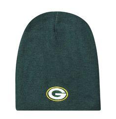 Green Bay Packers Knit Non-Cuffed Beanie - Green