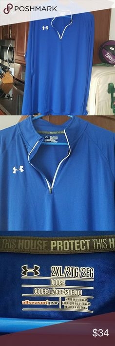 Nwt Under Armor pull over 2xl New with tags Under Armor loose fit, all season gear. 2xl Under Armour Tops Tees - Long Sleeve