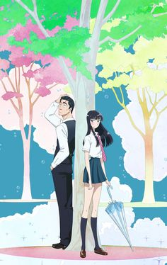 koi wa ameagari no you ni kondou masami tachibana akira business suit seifuku tagme umbrella My Little Monster, Little Monsters, Anime Ova, Otaku Anime, Akira, Anime English, Animation, Steampunk, Dragon