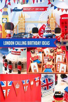 London, England birthday party ideas www.spaceshipsandlaserbeams.com