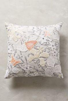 Anthropologie Crystal Dendrite Pillow #anthrofave #anthropologie
