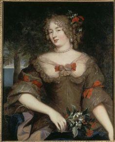 """""""Françoise-Marguerite de Sévigné, comtesse de Grignan"""" by Pierre Mignard (1669)"""