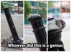 #spiderman #homem #aranha #ideias #criativas #creative #ideas #genio #genious