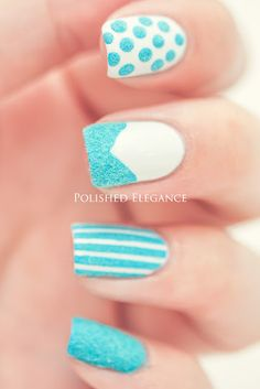 Mix & match nails with Texture polish