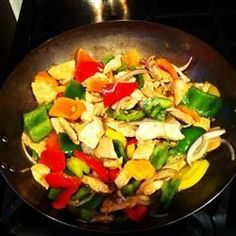 Stir Fried Chicken and Chinese Vegetables @ http://allrecipes.com.au