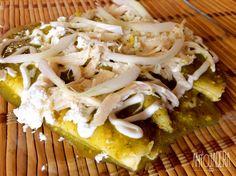 La Antojadera   Enchiladas Verdes