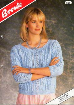 Womens Sweater Knitting Patterns womens sweater knitting pattern pdf  download ladies jumper lacy r. f94916e16