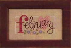 Cross Stitch Corner | Lizzie Kate - February