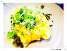 Toast: Auckland Eats: Little Bird Organics Unbakery & Ortolana Auckland, Food Inspiration, Baked Potato, Tomatoes, Toast, Organic, Bird, Breakfast, Ethnic Recipes