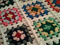 Good old granny squares...